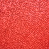Natural Red Leather Macro Background Royalty Free Stock Photography