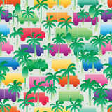 Natural reduce pollution seamless pattern Stock Photo