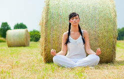 Natural relaxing royalty free stock photo