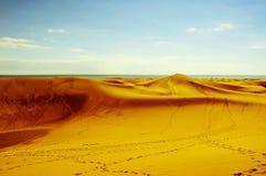 Natural Reserve of Dunes of Maspalomas, in Gran Canaria, Spain, Stock Image