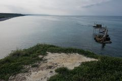 Natural Reserve of Punta Aderci royalty free stock photos