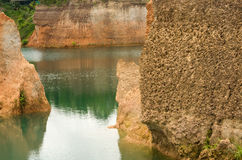 Natural reservoirs Royalty Free Stock Images