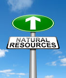 Natural resources concept. Stock Images