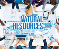 Natural Resources Conservation Environmental Ecology Concept.  royalty free stock photography