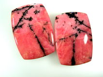 Natural rhodonite Stock Photography