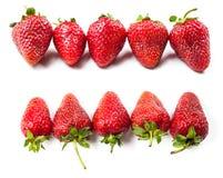 Natural ripe strawberries Stock Photo