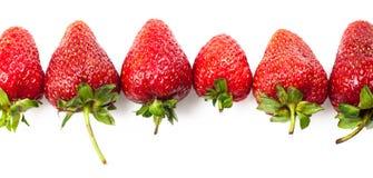 Natural ripe strawberries Royalty Free Stock Photos