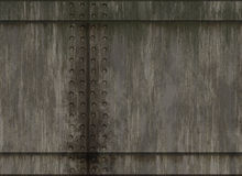 Natural rivet metal plate texture. S Stock Image