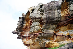 Natural rock formation Royalty Free Stock Photo