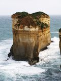 Natural Rock Formation. Amazing rock formation along Great Ocean Road , Australia Stock Images