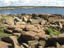 Natural rock landscape Stock Images