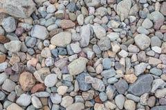 Natural rock pebble backgorund Royalty Free Stock Image