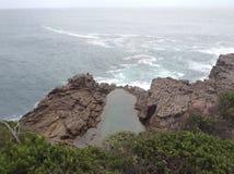 Natural Rock Pool Stock Photography