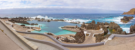 Natural rock pool of Porto Moniz Royalty Free Stock Images
