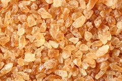 Natural rock sugar Royalty Free Stock Images