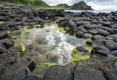 Natural rocks in belfast area, Northern Ireland.