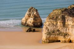 Praia da Rocha Royalty Free Stock Photography