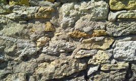 Rocks wall texture stock image