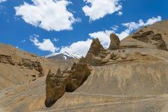 Natural rocky arch Stock Photos