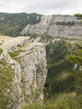 Creux du Van in Switzerland Royalty Free Stock Photography
