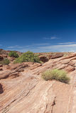 Natural Rocky Stone Formation in Monument Valley, Arizona State. Royalty Free Stock Photos