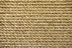 Natural Rope background Stock Image