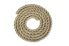 Natural rope not replace synthetics Stock Images
