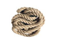 Natural rope not replace synthetics Royalty Free Stock Photo