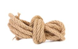 Natural rope. Royalty Free Stock Photo