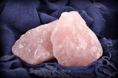Natural Rose Quartz Royalty Free Stock Image