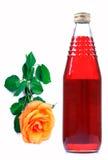 Natural rose syrup Stock Photos