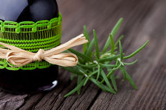Natural rosemary and wine hair toner diy Stock Photo