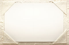 Natural rough textured paper background Stock Photos