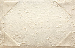 Natural rough textured paper background Royalty Free Stock Image