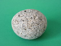 Natural round stone Stock Image