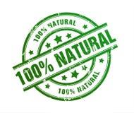 Natural rubber stamp illustration Stock Images
