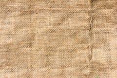 Natural sack texture brown canvas fabric design Royalty Free Stock Photos