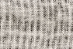 Natural sackcloth texture or background, gray colour Stock Photo