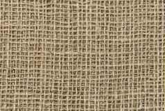Natural sackcloth texture background royalty free stock image