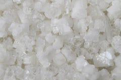 Natural salt background Stock Photos