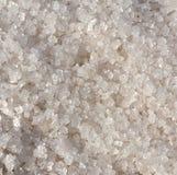Natural Salt Crystals. Natural sea salt harvested from salt paddies stock photo