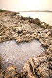 Natural Salt Stock Image