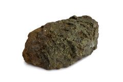 Natural sample of polymetallic ore Royalty Free Stock Images