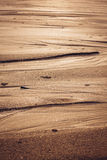 Natural sand patterns in beach Stock Photos
