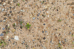 Natural Sand and stone texture Royalty Free Stock Image