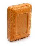Natural sandal soap Royalty Free Stock Images