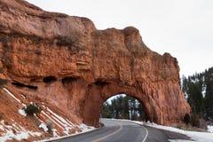 Natural Sandstone Bridge Stock Photos