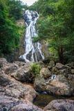 Natural Sarika Waterfall and Rocks. They are in Sarika, Mueang Nakhon Nayok District, Nakhon Nayok, Thailand, Southeast Asia Stock Photography