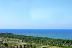 The natural scenery of hainan island China Stock Photography
