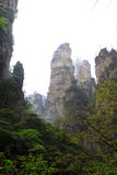 Natural scenery in Zhangjiajie National Geological Park Stock Photos
